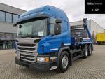 ScaniaP 410 DB6X2*4MNA / Lenkachse / Retarder /Meiller
